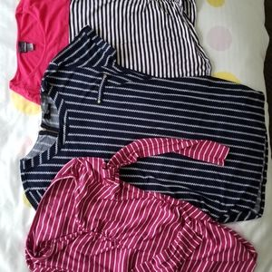 Bundle of 3 maternity tops